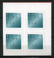 Nederland Rouwzegel uit mailer nr 2049 blok v 4 gele fosfor