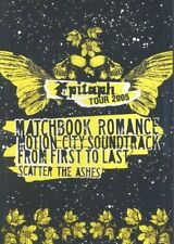 Epitaph Tour 2005 u.a Scatter the Ashes, From first to Last ( Musik DVD )