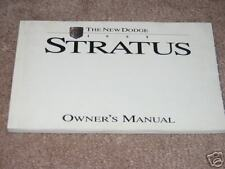1995 DODGE STRATUS OWNERS MANUAL 95 NEW