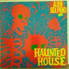 """12"""" Alien Sex Fiend Haunted House/ haunted house/ haunted house dub mix"""