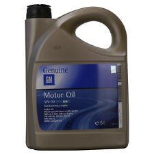 OLIO MOTORE  GM OPEL 5 W-30 Dexos 2 Fuel Economy Longlife 5 LITRI