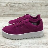W NIKE AIR FORCE 1 SAGE LOW TRUE BERRY size UK 7.5 US 10 EUR 42 AR5339 600 AF1