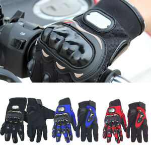 Brand New Thermal Motorbike Motorcycle Gloves Carbon Knuckle Protection UK