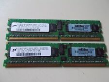 MT 2x 1GB Módulo, CL3, ddr2-400, pc2-3200r, HP PN 345113-851, # su _ 117