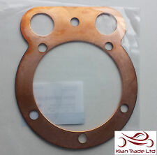 MOTORCYCLE BIKE ROYAL ENFIELD BULLET 350CC CYLINDER HEAD GASKET IN COPPER