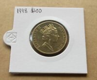 AUSTRALIA DECIMAL...1998 MOB OF ROOS  ( KANGAROOS )...$1.00 DOLLAR COIN...