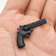 "1:6 Scale Weapon Toy Model Kohler python 357 revolver Gun For 12"" Figure Action"