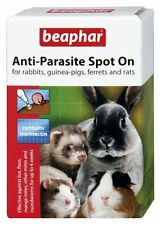 Beaphar Rabbit & Guinea Pig Anti-parasite Spot on 4 tubes x 6