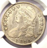 1814 Bust Half Dollar 50C O-103 - NGC XF Detail (EF) - Rare Date Certified Coin!