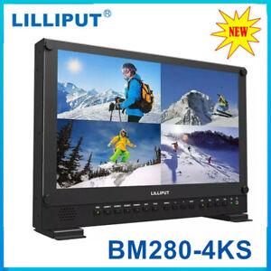 LILLIPUT BM280-4KS 4K Camera monitor 3D Broadcast Ultra HD 3G-SDI/DVI/VGA 28inch