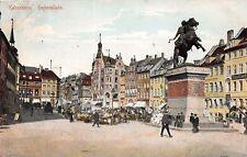 KOBENHAVN DENMARK DANEMARK Højbro Plads POSTCARD 1907