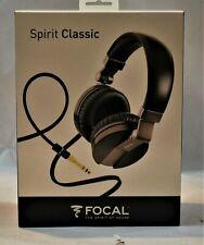 Focal Spirit Classic Over-Ear Closed Circumaural Headphones BRAND NEW L@@K