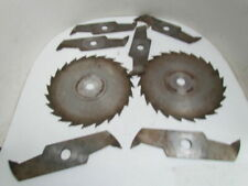 """Carbide 12"""" Dia x Up To 1-3/4"""" Wide 1-1/8"""" Bore (6) 1/4"""" Chippers (2) 1/8""""Blades"""