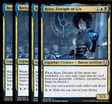 Rona, Disciple of Gix X4 -NM- Dominaria MTG Gold Uncommon