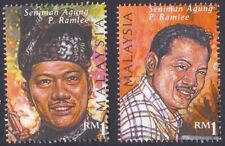 Malaysia 1999 Seniman Agung P Ramlee Artist RM1 stamp Mint Unused (Pair)