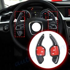 Carbon Fiber DSG Shifter Steering Wheel Shift Paddle For Audi Q5/7 TT S3/4/5/6/7