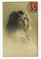 c 1910 Children Child PRETTY YOUNG GIRL photo postcard
