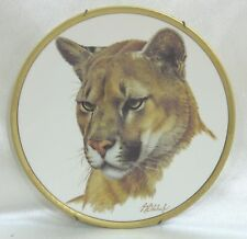 Vintage Lenox Great Cats of the World Collectors Plate 1994 - Puma