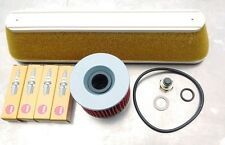 Service Kit Kawasaki GTR 1000 A, Spark Plugs,Air/Oil Filter & Sump Plug, 94- 99