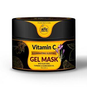 The Indie Earth Vitamin C Skin Illuminating Sleeping Gel Mask 100ml