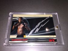Anderson Silva Authentic 2013 Topps UFC Knockout Full-Contact Autograph Card.