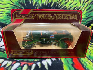 Matchbox Models of Yesteryear Y12 1930 4 1/2 Lt Super Charged Bentley 1/51 Scale