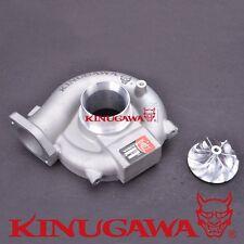 Kinugawa Turbo Compressor Housing 4G63T Mitsubishi EVO 9 20G w/ Billet Wheel 6+6