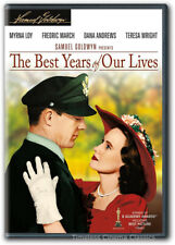 The Best Years of Our Lives Dvd New Myrna Loy Fredric March Dana Andrews