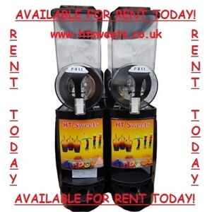 Slush machine for RENT - double and triple available! £19/wk, £22/wk, £25/week