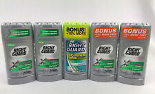 5 Right Guard Xtreme Fresh ENERGY Anti-perspirant Odor Protection  2.6 oz each