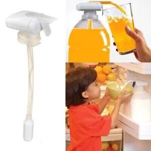 Automatic Drink Straw Magic Tap Electric Motor Press Dispenser Water Bottl Pump
