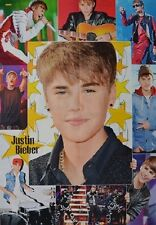 JUSTIN BIEBER - A1 Poster (XXL - 80 x 55 cm) - Clippings Fan Sammlung NEU