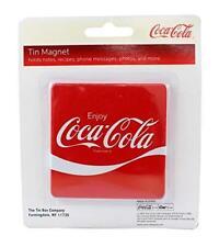 Official Coca-Cola Red Square Enjoy Fridge Magnet