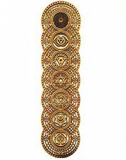 "Spiritual Sacred Geometry Yoga studio Decor Mandala Abstract Wood Art 18"" * 6"""
