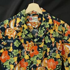 Hilo Hattie mens Hawaiian Camp Shirt Size small short sleeve