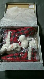 UNLEASHED by ROCKETDOG Snow Cone Timber Tartan Red Green Plaid Boot Slippers 7.5
