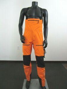 Mens North Face Summit L5 FZ Waterproof FUTURELIGHT Shell Ski Bibs Pant - Orange