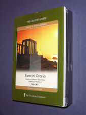 Teaching Co Great Courses DVDs        FAMOUS GREEKS              new & sealed