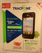 TracFone LG Optimus Fuel Android Smartphone New in the Box