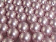 Swarovski Crystal Pearl 8 mm x 6  POWDER ROSE 5810