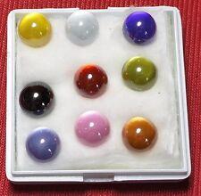 Powerful Nok Phra Gow 9 Colors Ball  Lucky Gems Naga Eye Crystal Thai Amulet#R57