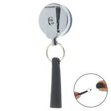 Camping Heavy Duty Retractable Pen Pull Holder Reel Carpenter Anti Lost sh