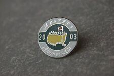 2003 Masters Tournament Golf Ball Marker --AUGUSTA GEORGIA** AUTHENTIC**