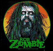 ROB ZOMBIE - Patch Aufnäher - Zombie Face 10x10cm