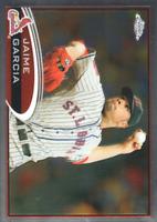 2012 Topps Chrome Baseball #119 Jaime Garcia St. Louis Cardinals