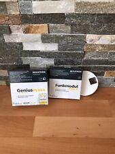 10er Set: Hekatron: Rauchmelder Genius Plus X + Funkmodul Pro X + Klebepad