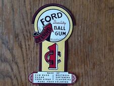 sticker autocollants FORD GUMBALL MACHINE N°1 taille 12 cm