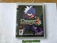 Disgaea 3: Absence of Justice Brand New Sealed Sony Ps3 PlayStation 3 Game