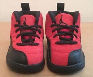 Nike Air Jordan Retro 12 Reverse Flu Game (TD) Size 2c NIB
