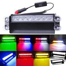 LED Colorful Auto Car Dash Strobe Lights Traffic Flash Emergency Warning Lamp